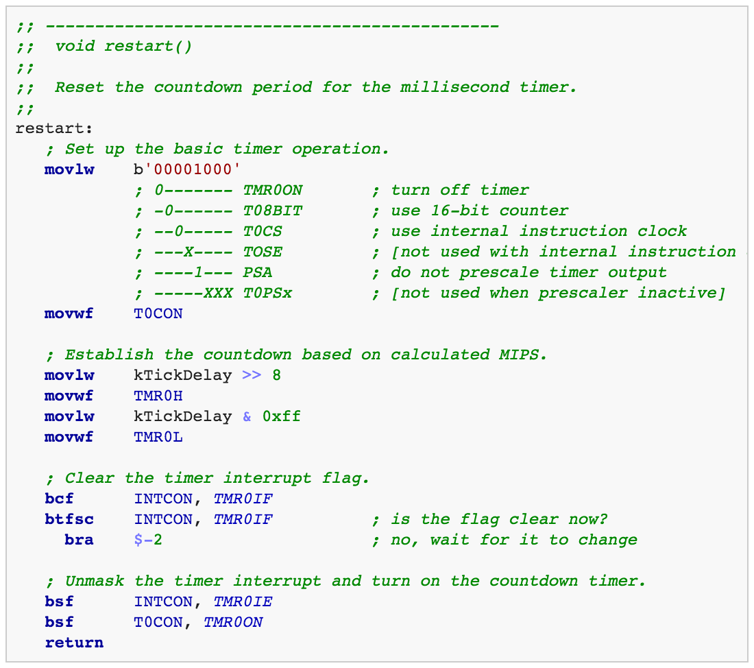 PIC18 syntax highlighting